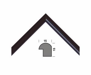 Рамка А4 210х297, черный, 15 мм