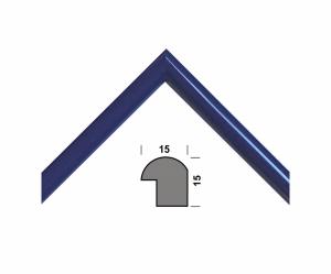 Рамка А4 210х297, синий, 15 мм