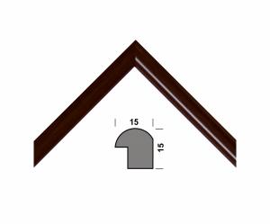 Рамка А4 210х297, темно-коричневый, 15 мм