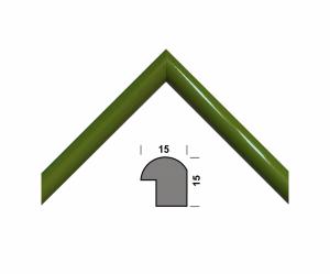 Рамка А4 210х297, зеленый, 15 мм