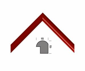 Рамка А4 210х297, красный, 15 мм
