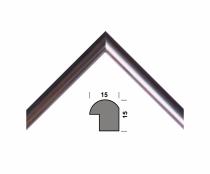 Рамка А4 210х297, серебро, 15 мм